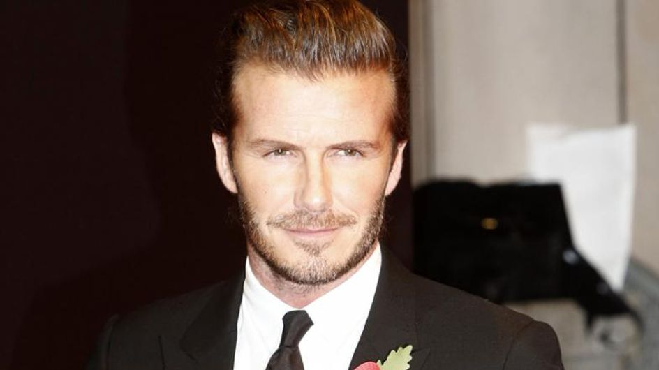 David Beckham verletzt sich bei Autounfall