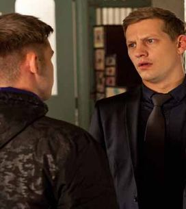 Hollyoaks 08/12 - Ste returns to the village and is immediately suspicious