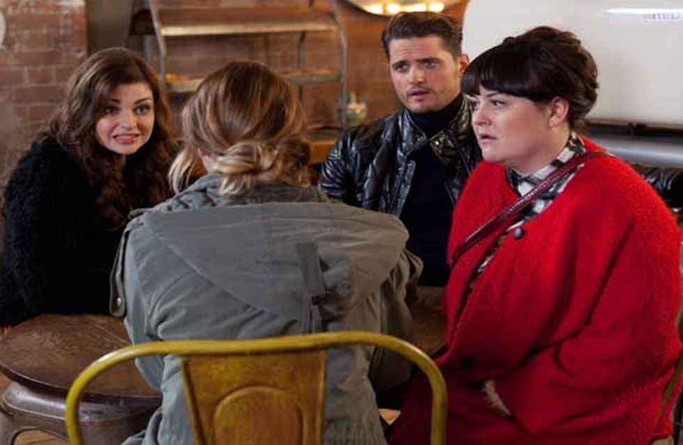Hollyoaks 10/12 - Ste's desperate to protect his family, but will they believe him?