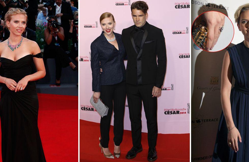 Scarlett Johansson sposa in gran segreto. L'attrice è convolata a nozze con il suo Romain