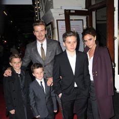 David et Brooklyn Beckham, victimes d'un accident de voiture