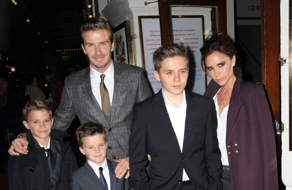 David et Brooklyn Beckham, victimes d'un accident de voiture