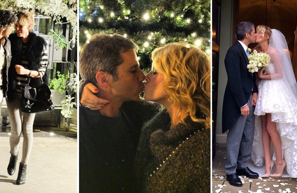 Alessia Marcuzzi: nozze a sorpresa con Paolo! Le foto della neo sposa in abito corto