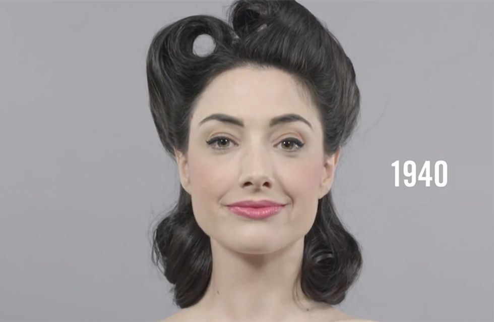 This Amazing Video Shows 100 Years Of Beauty In 1 Minute