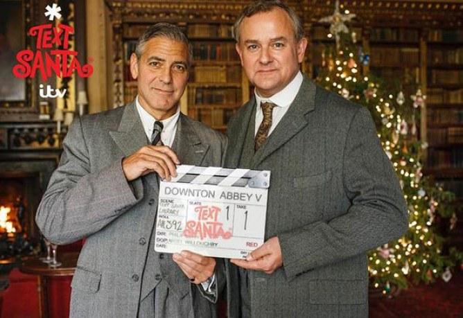 George Clooney en guest star dans Downton Abbey