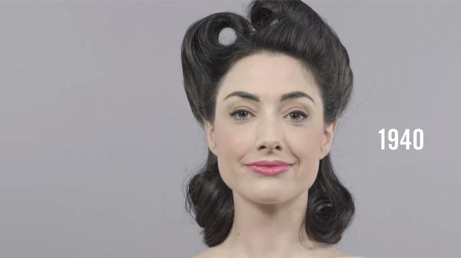 Os cabelos favoritos das mulheres nos últimos 100 anos