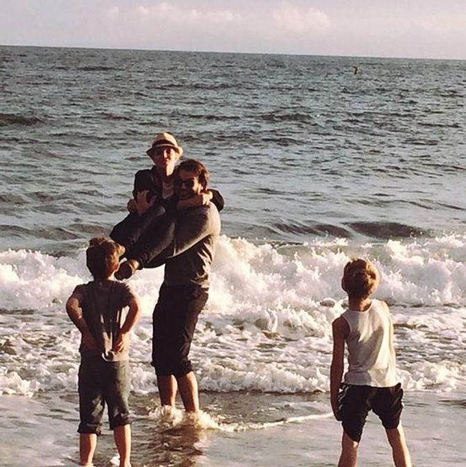 Britney Spears et son chéri à la mer