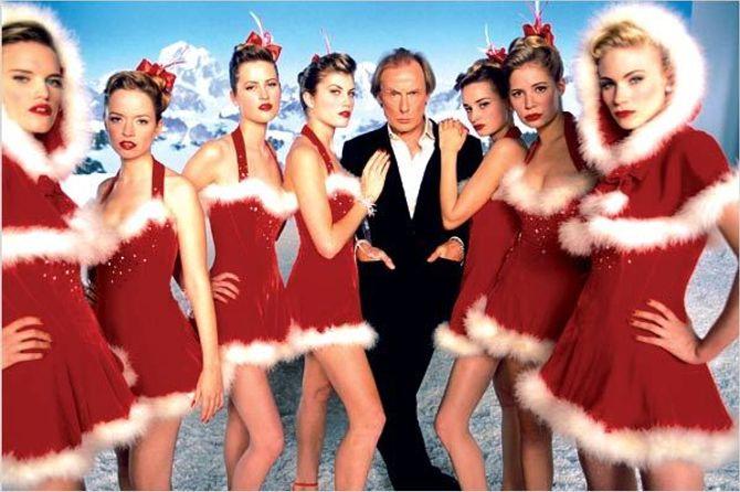 Bill Nighy dans Love Actually.