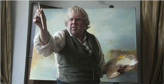 Timothy Spall dans Mr. Turner.