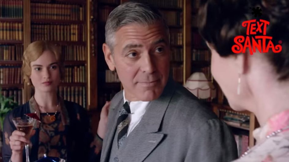 WATCH: Take A First Look At George Clooney In Downton Abbey