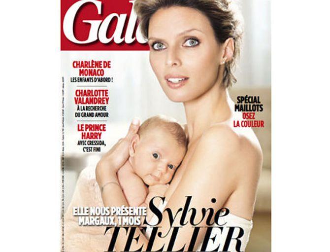 Sylvie Tellier et sa fille