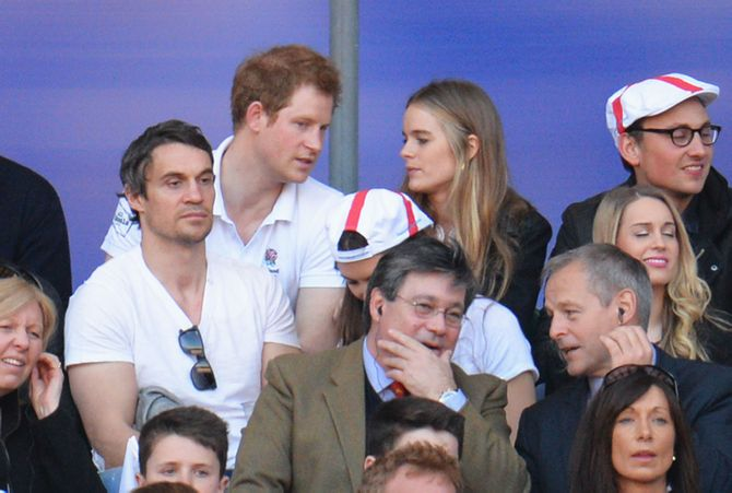 Le prince Harry et Cressida Bonas.