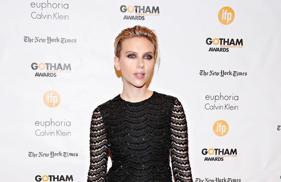 Scarlett Johansson, glamour pour les Gotham Awards