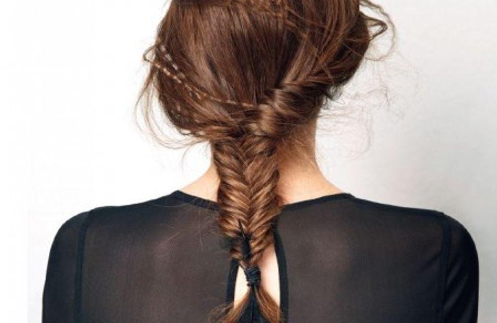 Tuto coiffure : une coiffure pour les fêtes de fin d'année
