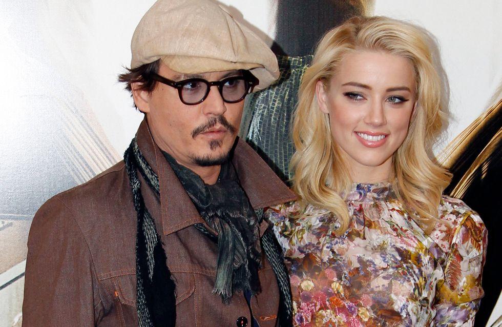 Johnny Depp et Amber Heard, leur mariage en suspens