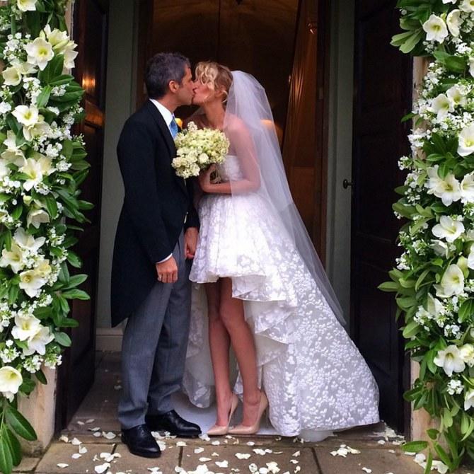 Alessia e Paolo nel giorno delle nozze