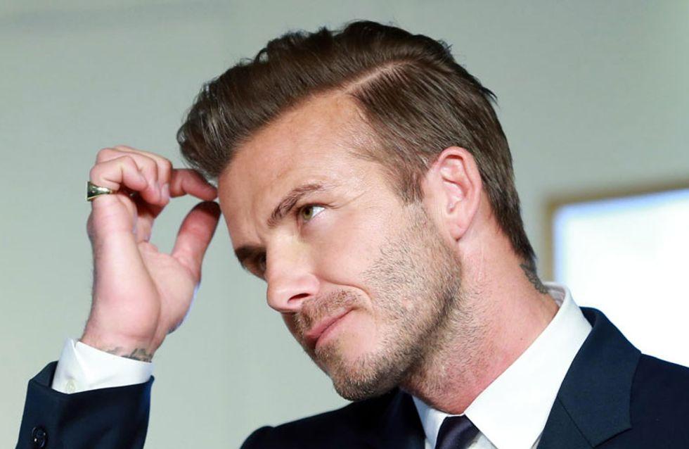David Beckham denuncia en las redes a una fan por conducción temeraria
