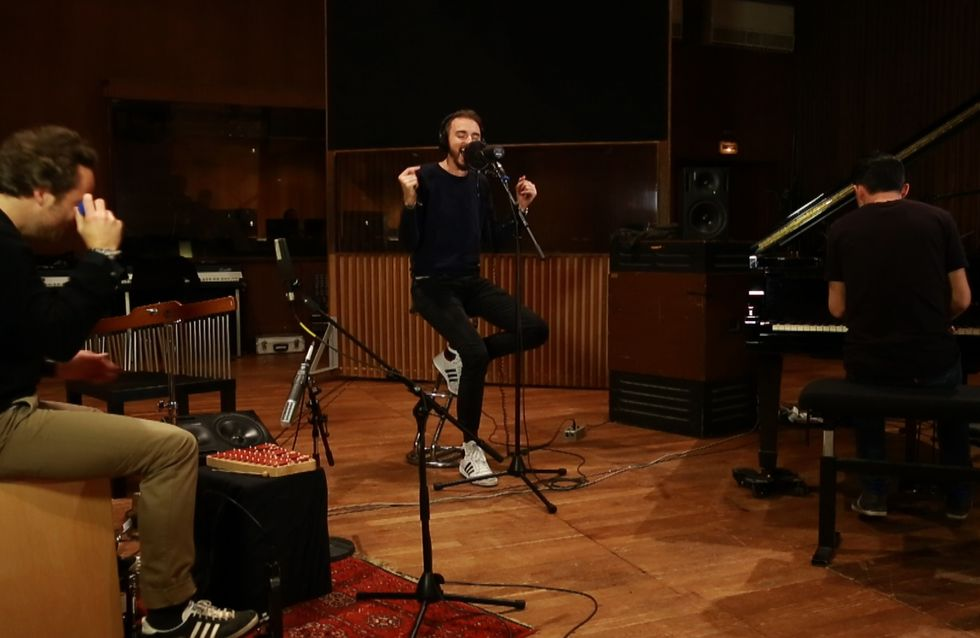 Christophe Willem chante L'été en hiver en live (Vidéo exclusive)