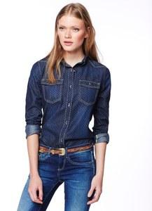 Chemise en jean à pois, Pepe Jeans. 90€