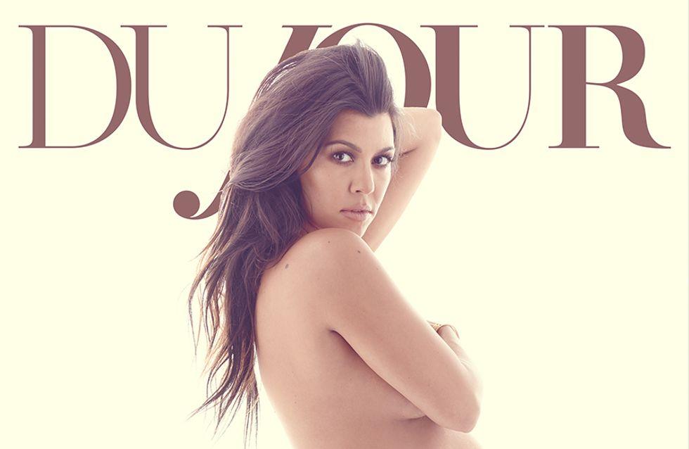 Kourtney Kardashian continue sa saga de photos nues