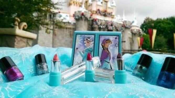 Le maquillage La Reine des Neiges