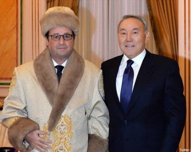 François Hollande devient la risée du web