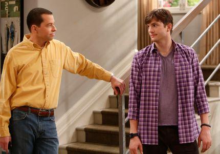 John Cryer und Ashton Kutcher