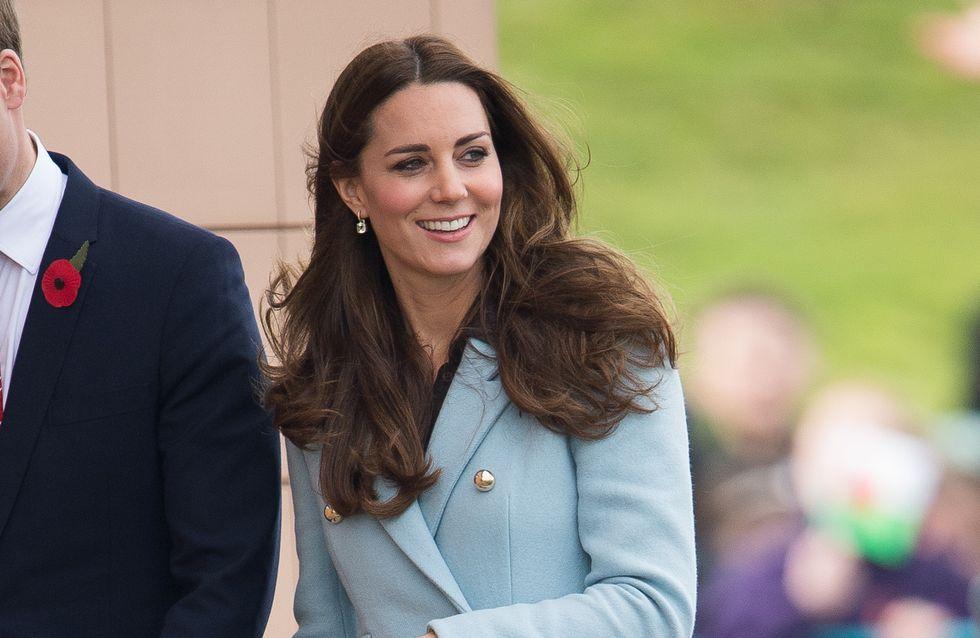 Kate Middleton, toujours accro aux créations Séraphine