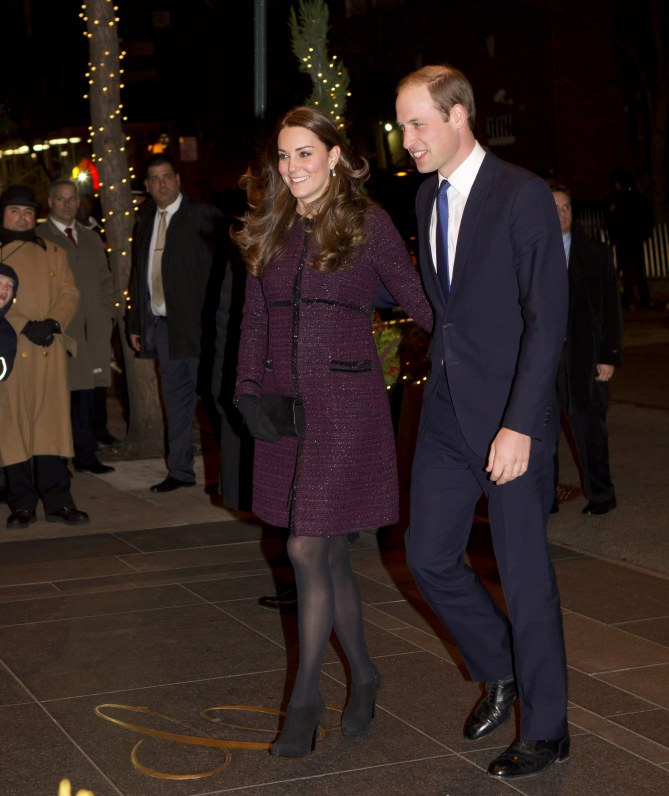 Kate Middleton et le prince William, le 7 décembre 2014