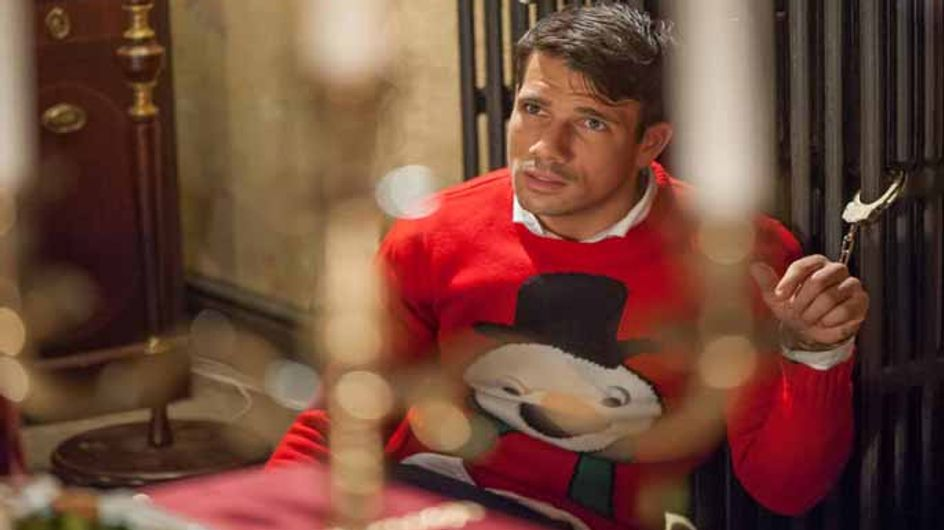 Hollyoaks 19/12 - Dodger is trapped in a Christmas nightmare