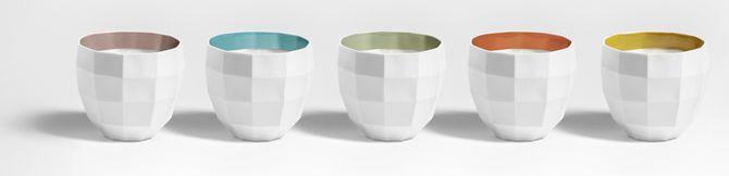 Colección de velas de cerámica
