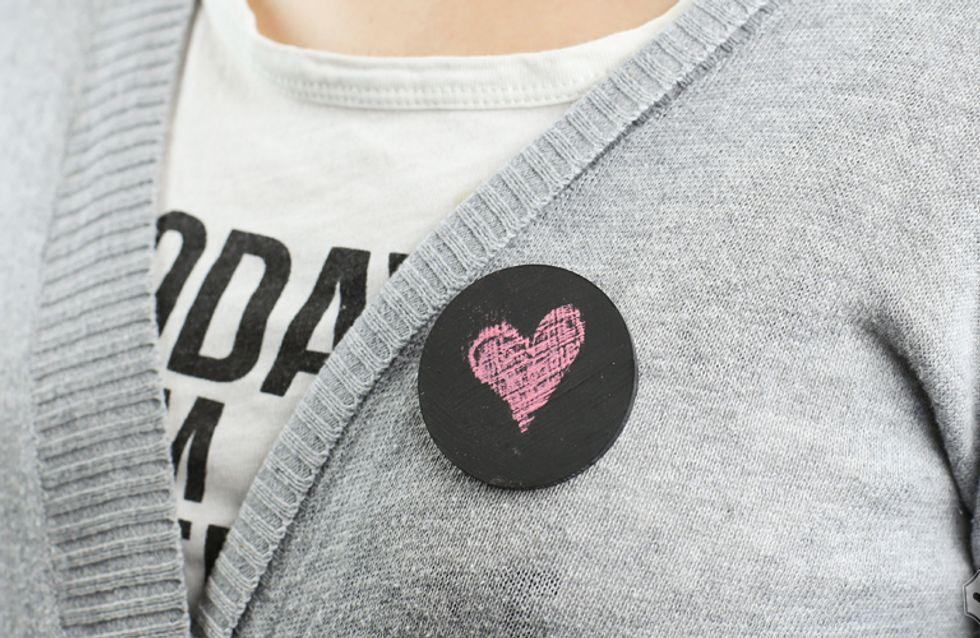 Fashion DIY/ Segui il tutorial step by step e scopri come creare una Spilla Lavagna