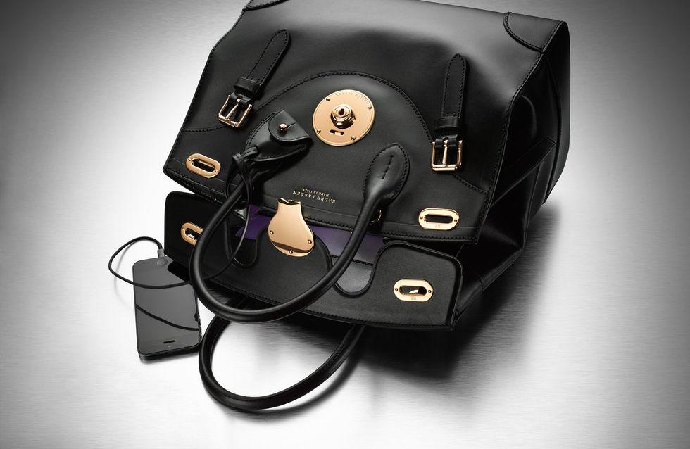 L'incroyable it-bag connecté de Ralph Lauren