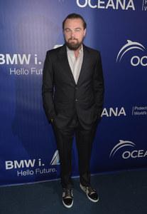 Leonardo DiCaprio à une soirée.