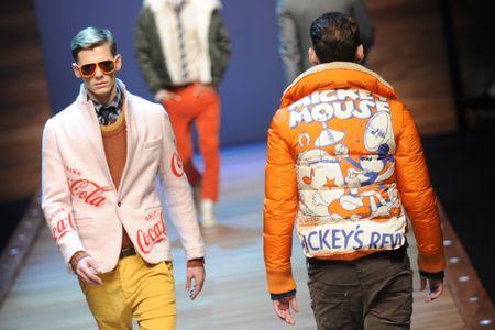 Desfile de moda masculina