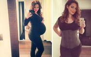 Emilie Nef Naf, deux semaines après son accouchement elle dévoile son secret min