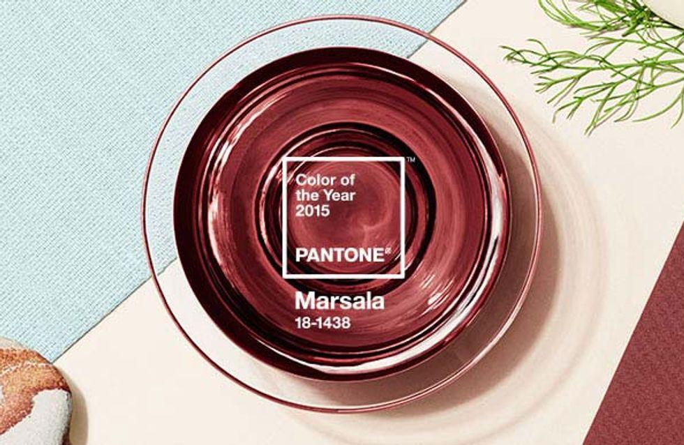 Marsala: ecco il colore del 2015 secondo Pantone