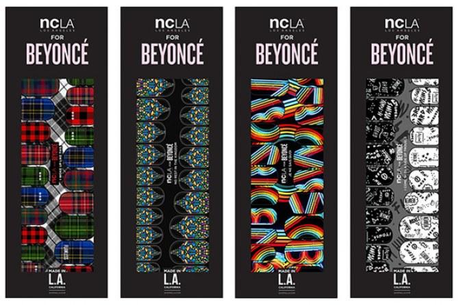 La collection nail art Beyoncé x NCLA