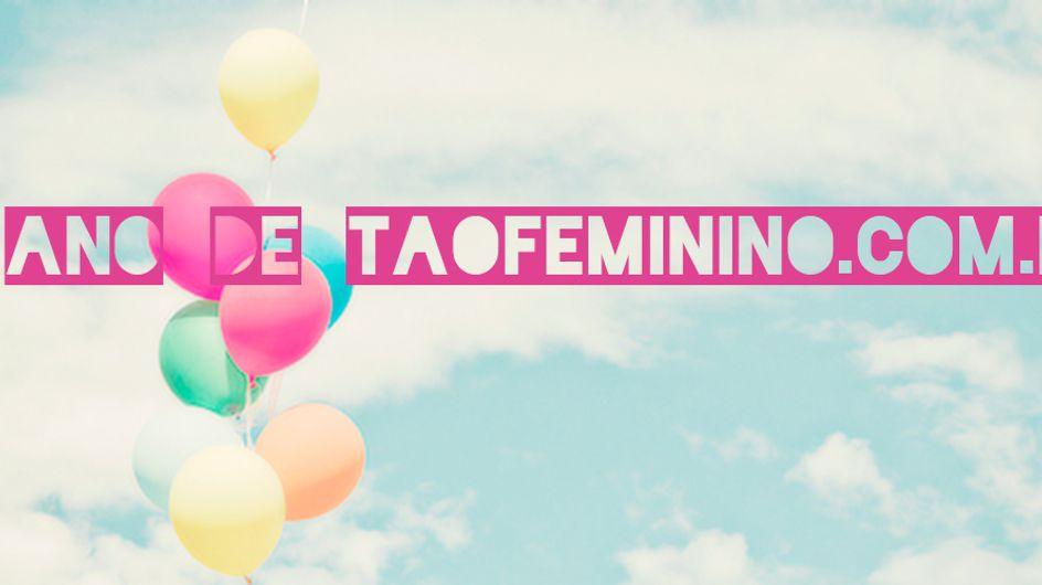 Feliz aniversário, taofeminino!
