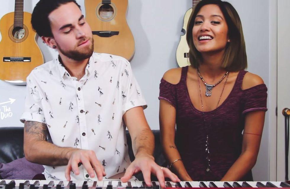 Cet adorable couple revisite à sa façon les tubes de 2014 (Vidéo)