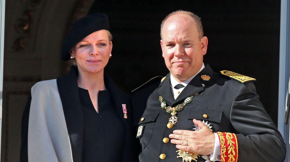 Alberto de Mónaco y Charlène, padres de un niño y una niña