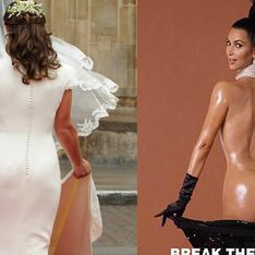 Pippa Middleton s'en prend aux fesses de Kim Kardashian