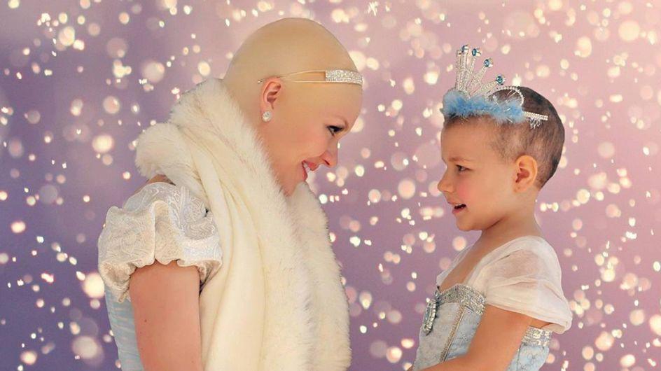 Wie Cinderella dieses krebskranke Mädchen überrascht, ist unglaublich!