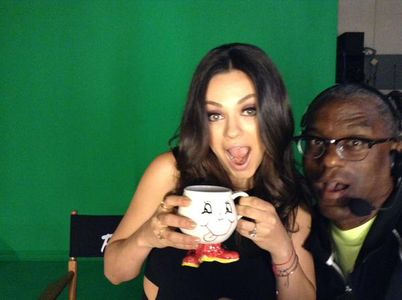 Mila Kunis au The Late Late Show with Craig Ferguson