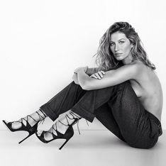 Gisele Bündchen encore topless pour la nouvelle campagne Stuart Weitzman (Photo)