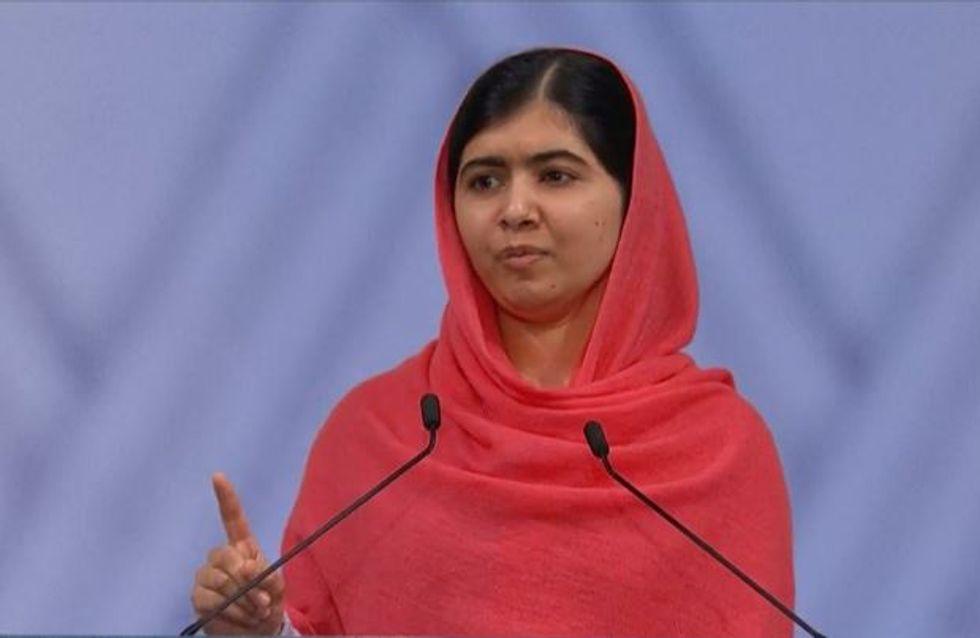 L'inspirant discours de Malala Yousafzai à la remise du prix Nobel de la Paix