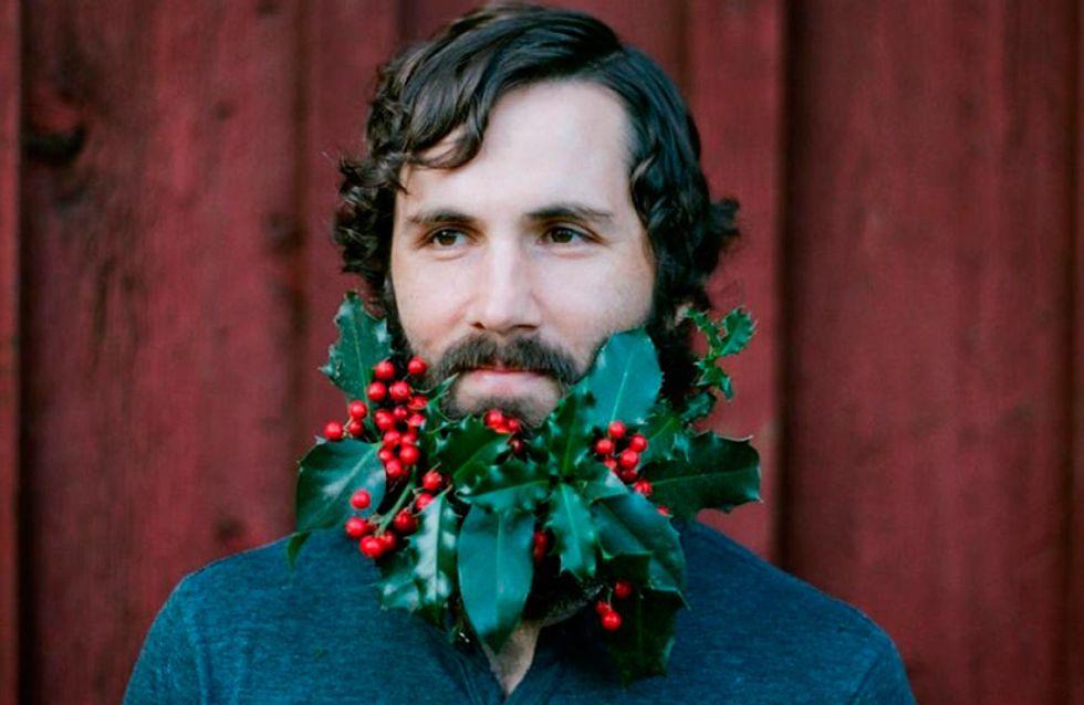 ¡Atención hipsters! Navidad en miniatura para vuestras barbas
