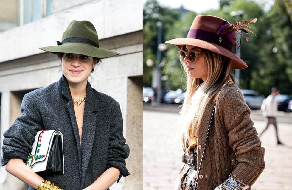 4 chapeaux pour l'hiver