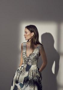 Olivia Wilde, égérie de la collection Conscious Eclusive de H&M.