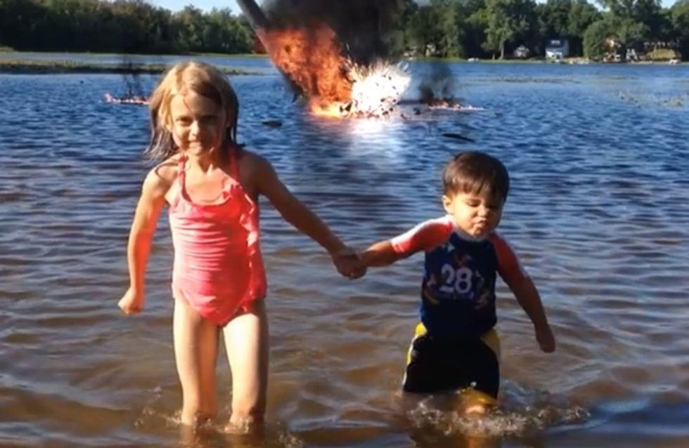 Video/ Action Movie Kid: il bimbo che diventa un super eroe grazie al papà (e gli effetti speciali!)